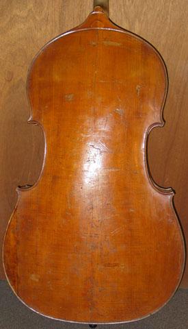 Back: 2-piece Maple Round Back