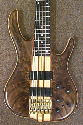 black tiger white tiger ken smith basses Dean 12 String Bass